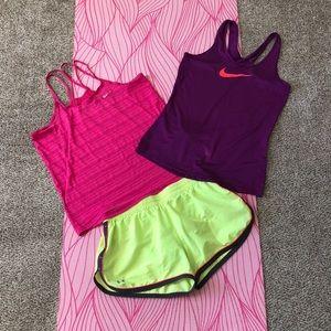 Nike/UA workout bundle!
